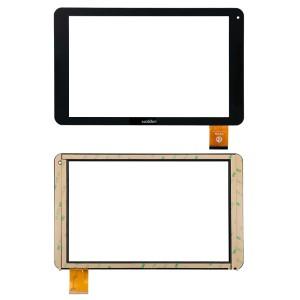 Universal 10.1 inch  - Front Glass Digitizer Black 50 Pins wj1315-FPC  V 2.0