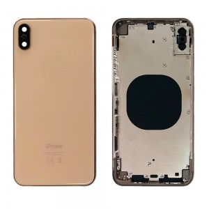 iPhone XS MAX - Back Housing Cover Gold