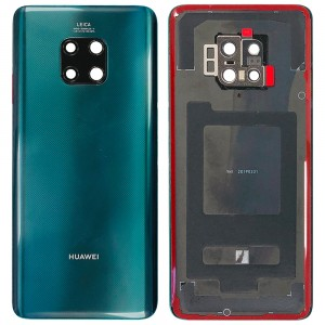 Huawei Mate 20 Pro - OEM Battery Cover Emerald Green with Camera Lens & Adhesive