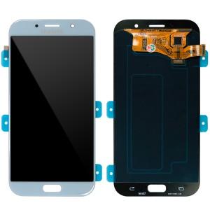 Samsung Galaxy A7 2017 A720 - Full Front LCD Digitizer Blue
