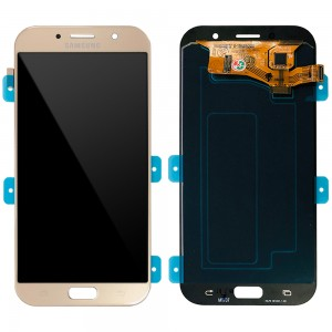 Samsung Galaxy A7 2017 A720 - Full Front LCD Digitizer Gold