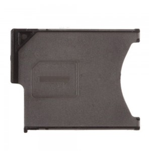 Sony Xperia Z L36H - SIM Card Tray Holder Black
