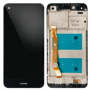 Huawei Ascend P9 Lite mini / Y6 Pro 2017 - Full Front LCD Digitizer with Frame Black