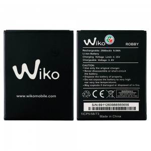 Wiko Robby - Battery 1800mAh 6.7Wh
