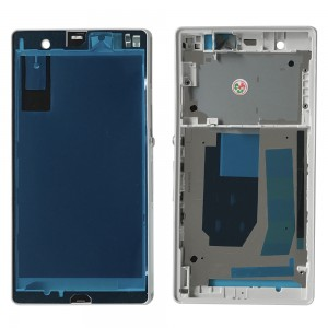 Sony Xperia Z L36H - LCD / Middle Frame White