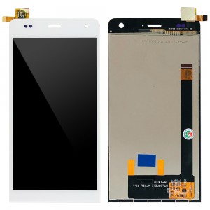 Wiko Getaway - Full Front LCD Digitizer White