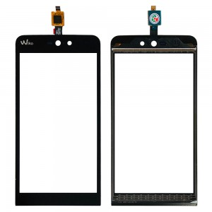 Wiko Rainbow Jam 4G - Front Glass Digitizer Black