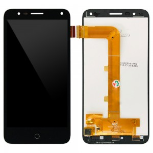 Alcatel One Touch Pop 4 5051 - Full Front LCD Digitizer Black