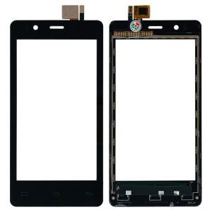 BQ Aquaris E4.5 - Front Glass Digitizer Black