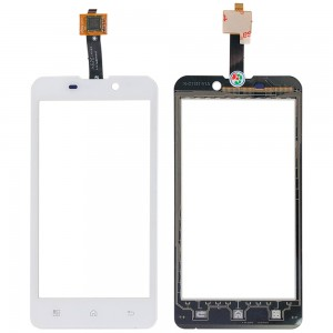 BQ Aquaris 4.5 / Fnac 4.5 - Front Glass Digitizer White