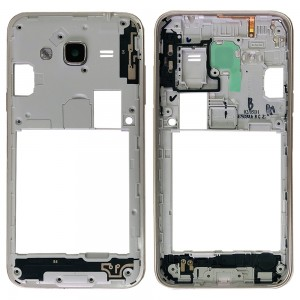Samsung Galaxy J3 2016 J320 Duos - Chassis Middle Frame Gold