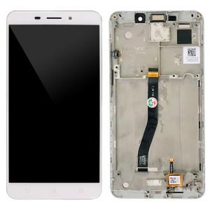 Asus Zenfone 3 Laser ZC551KL - Full Front LCD Digitizer with Frame White
