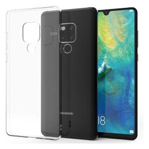 Huawei Mate 20X  - Glossy TPU Gel Case Clear