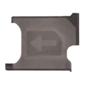 Sony Xperia Z1 L39H - SIM Card Tray Holder Black