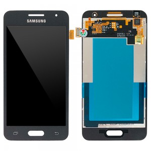 Samsung Galaxy Core 2 G355H - Full Front LCD Digitizer Black < Service Pack >
