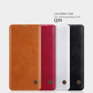 Samsung Galaxy S10 Plus G975 - Nillkin Qin Leather Case