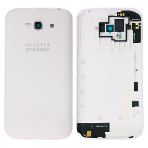 Alcatel One Touch Pop C9 - Back Housing Cover White