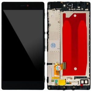 Huawei Ascend P8 - Full Front LCD Digitizer with Frame Black