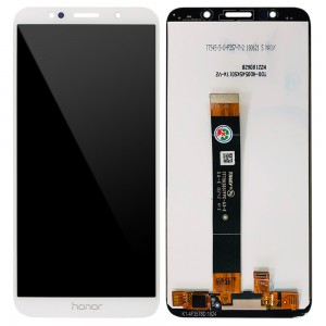 Huawei Honor 7S / Honor Play 7 - Full Front LCD Digitizer White