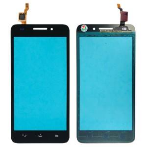 Huawei Ascend G620S - Front Glass Digitizer Black