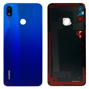Huawei P Smart + - Battery Cover Blue With Camera Lens