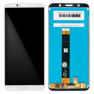 Huawei Y5 (2018 ) / Y5 Prime (2018) - Full Front LCD Digitizer White