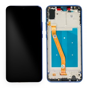 Huawei Nova 3 - Full Front LCD Digitizer with Frame Blue