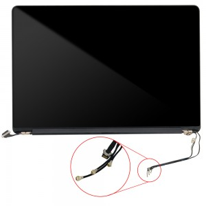 Macbook Pro Retina 15 inch A1398 MID 2012/EARLY 2013 - Full Front LCD with Housing Silver