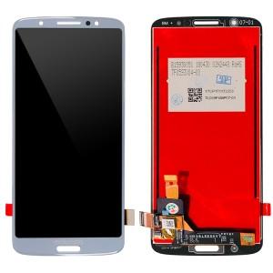 Motorola Moto G6 Plus XT1926-3 - Full Front LCD Digitizer Silver