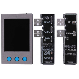 iPhone 7 / 7 Plus / 8 / 8 Plus / X / XR / XS / XS Max - LCD Screen / Vibrator / Photosensitive EEPROM Programmer Tools W13 2.0