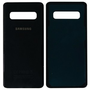 Samsung Galaxy S10 G973 - Battery Cover with Adhesive Black