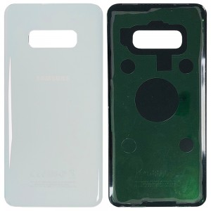 Samsung Galaxy S10e G970 - Battery Cover with Adhesive Pearl White
