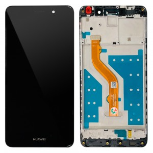 Huawei Y7 2017 / Nova Lite+ - Full Front LCD Digitizer with Frame Black