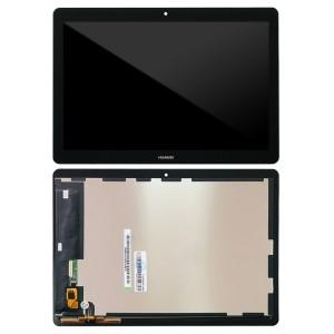 Huawei Mediapad T3 10 inch - Full Front LCD Digitizer Black AGS-W09
