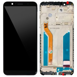 Asus Zenfone Max Pro (M1) ZB601KL / ZB602KL - Full Front LCD Digitizer with Frame Black