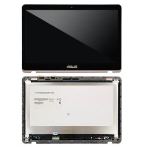 Asus enBook Flip UX360U - Full Front LCD Digitizer with Frame Grey