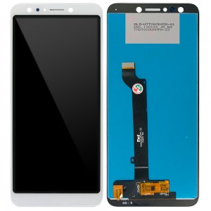 Asus Zenfone 5 Lite ZC600KL - Full Front LCD Digitizer Moonlight White