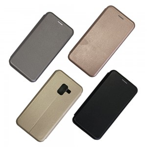 Samsung A8 (2018) A530 - Wallet Leather Magnetic Case