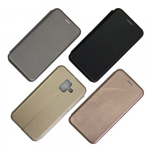 Samsung A6+ (2018) A605 - Wallet Leather Magnetic Case
