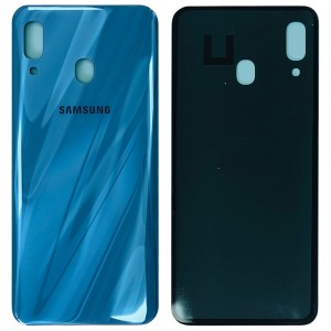 Samsung Galaxy A30 A305 - Battery Cover with Adhesive Blue