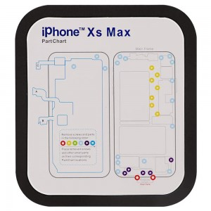 iPhone 6 to iPhone XS Max - Magnetic Screw Mat Kit
