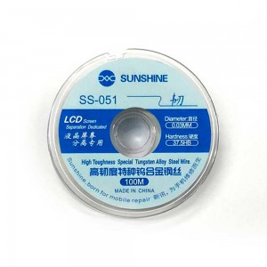 Sunshine - High Hardness Special Cutting Wire MCN JGS-02 0.08mm x 100M