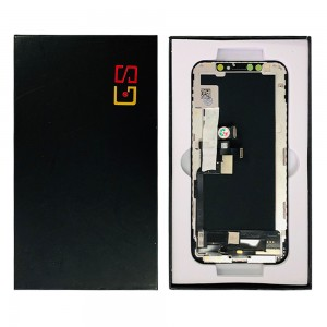 iPhone XS - LCD Soft OLED  Digitizer Black A+++ GX