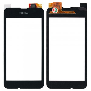 Nokia Lumia 530 - Front Glass Digitizer Black