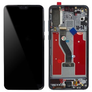Huawei P20 Pro - Full Front LCD Digitizer with Frame Twilight