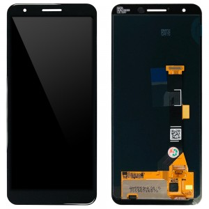 Google Pixel 3a - Full Front LCD Digitizer Black