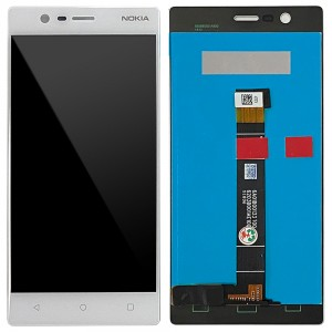 Nokia 3 - Full Front LCD Digitizer White