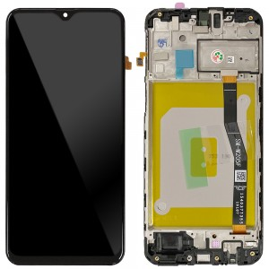 Samsung Galaxy M20 M205F - Full Front LCD Digitizer Black < Service Pack >