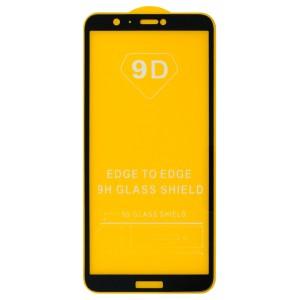 Huawei P Smart / Enjoy 7S - Full Arc Tempered Glass Black