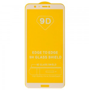 Huawei P Smart / Enjoy 7S - Full Arc Tempered Glass White